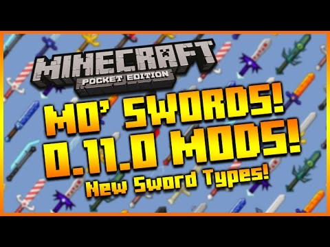 Minecraft PE Mods: Mo' Swords Mod Download