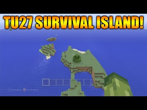 Minecraft XBOX / PS3 Seeds: TU27 Survival Island & Mooshroom Islands Seed