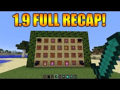 "Minecraft 1.9 Snapshot – ""THE COMBAT UPDATE"" Colliding Players Re-Added, Enderman Changes + MORE!"