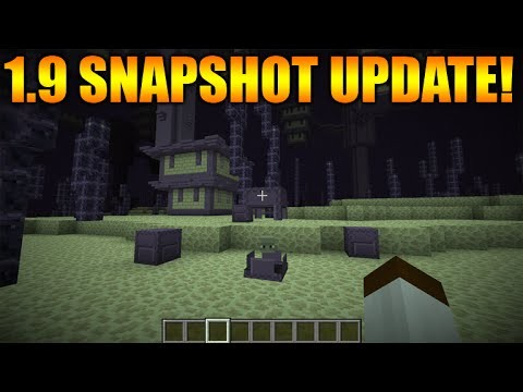 Minecraft 1.9 Update – First Snapshot Release This Week!! + 1.8.8 Realms + Bug Changes Today!
