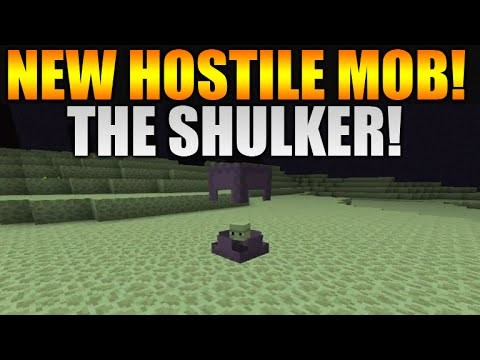 Minecraft 1.9 Update – NEW Hostile Mob The Shulker – NEW Potion Effects