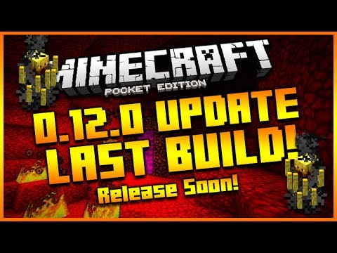 MINECRAFT POCKET EDITION 0.12.0 UPDATE – BETA BUILD 13 THE LAST BUILD! – IOS RELEASE DATE SOON!