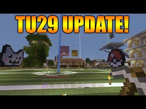 Minecraft Xbox 360 + PS3: NEW Title Update 29 In Cert Testing Bug Fix Update (TU29 Update)