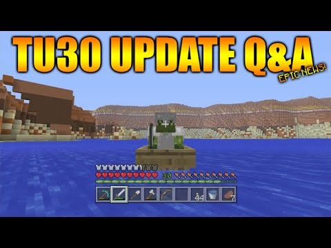Minecraft Xbox 360 + PS3: Title Update 30 Q&A – NEW Biomes CONFIRMED + 1.8 Features Update Coming