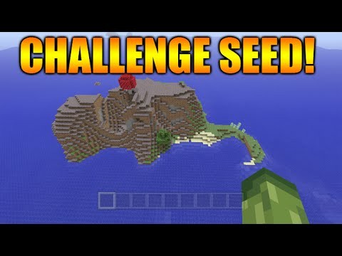 Minecraft Xbox 360 + PS3: TU28 Seed Showcase – Challenge Survival Island Seed + Spawn Stronghold!