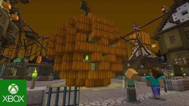halloween mashup pack for minecraft console editions - Halloween Xbox 360