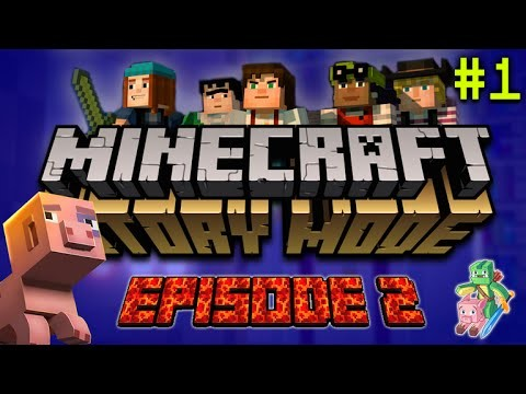 """Minecraft Story Mode – Assembly Required – """"BOOM TOWN!"""" (PART 1) EPISODE 2"""