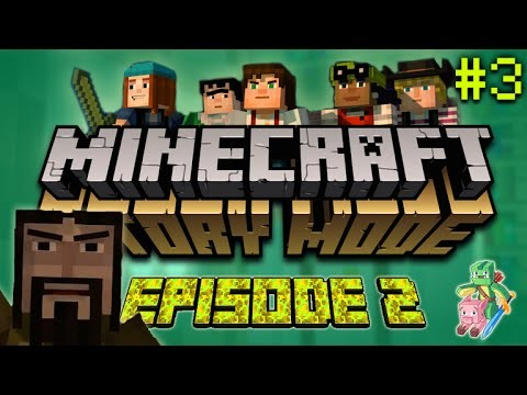 """Minecraft Story Mode – Assembly Required – """"IVOR IS BACK!"""" (PART 3) EPISODE 2 (FINAL PART)"""