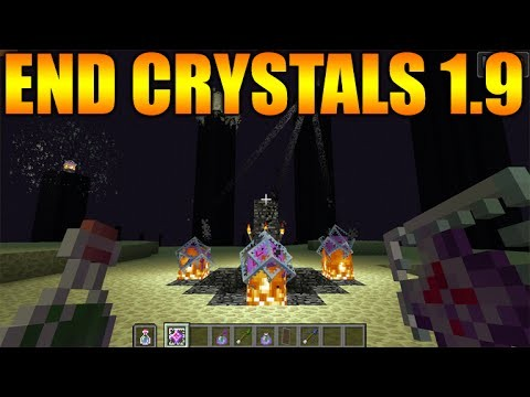 END CRYSTALS, LUCK POTIONS & MORE! Minecraft 1.9