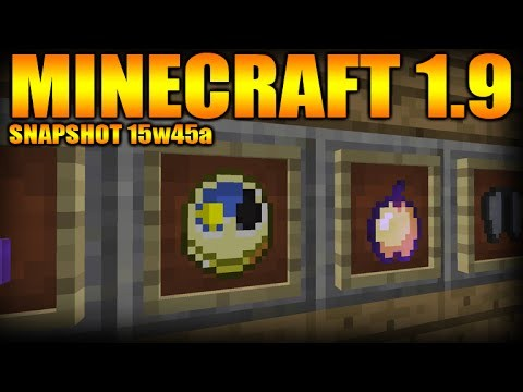 Minecraft 1.9 Snapshot 15w45a – Bugs & Optimizations