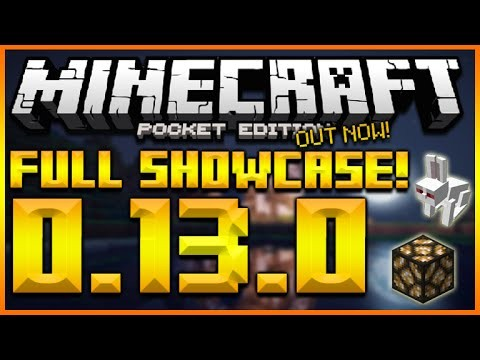 Minecraft Pocket Edition 0.13.0 Beta Features & Changes