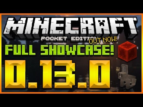MINECRAFT POCKET EDITION 0.13.0 UPDATE OUT NOW