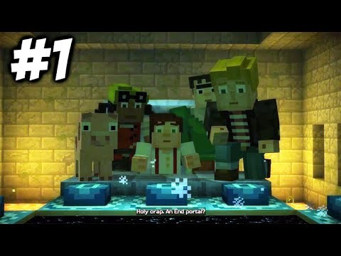 "Minecraft Story Mode – Episode 3 – ""THE END PORTAL"" (Part 1)"