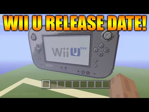 Minecraft Wii U Edition Release Date Today Leaked Information