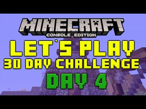 "Minecraft Xbox 360 – 30 Day Let's Play Challenge – ""The Archer Tower"" Episode 4"