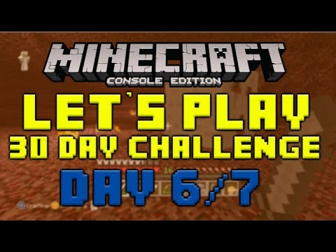 "Minecraft Xbox 360 – 30 Day Let's Play Challenge – ""Nether Adventures"" Episode 6/7"