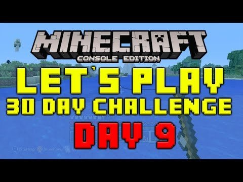 "Minecraft Xbox 360 – 30 Day Let's Play Challenge – ""The One That Got Away"" Episode 9"