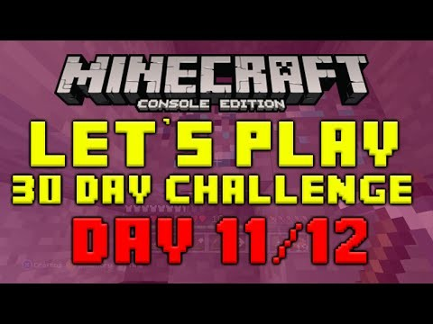 """Minecraft Xbox 360 – 30 Day Let's Play Challenge – """"The Diamond Wizard"""" Episode 11/12"""