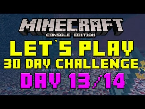 """Minecraft Xbox 360 – 30 Day Let's Play Challenge – """"The Lucky Enchanter"""" Episode 13/14"""