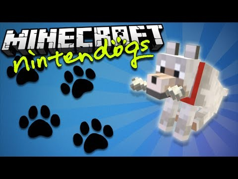 NINTENDOGS IN MINECRAFT VANILLA – Minecraft 1.9 Command Creation