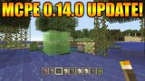 MINECRAFT POCKET EDITION 0.14.0 – NEWS UPDATE PISTONS, SLIME BLOCKS