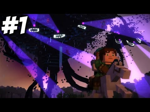 Minecraft Story Mode – Episode 4 – WITHER STORM ESCAPE! (Part 1)