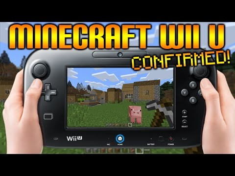 Minecraft WiiU Edition – CONFIRMED Minecraft Coming To Nintendos WiiU