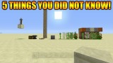 Minecraft Xbox 360 + PS3: 5 Cool Things You Possibly Didn't Know You Could Do In Minecraft TU31