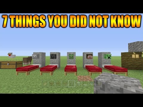 Minecraft Xbox 360 + PS3 7 Cool Things You Possibly Didn't Know You Could Do In Minecraft