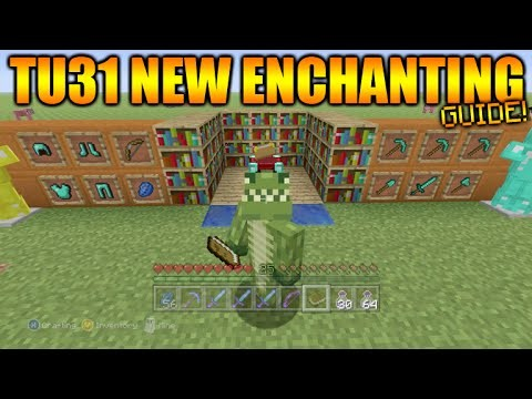 Minecraft Xbox 360 + PS3: Title Update 31 New Enchantment System