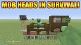 Minecraft Xbox 360 + PS3: Title Update 31 How To Get Mob Heads In Survival