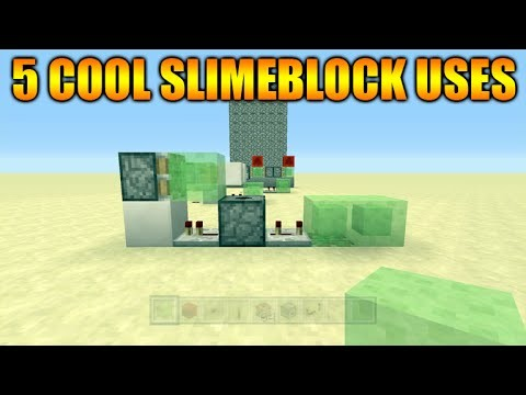 Minecraft Xbox 360 + PS3 Title Update 31 – 5 Cool Things To Do With Slimeblocks