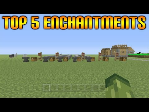 Minecraft Xbox 360 + PS3: Top 5 Enchantments
