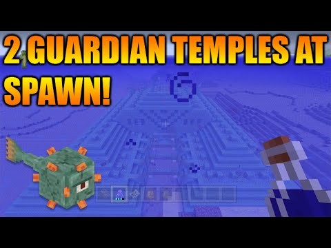 Minecraft Xbox 360 + PS3 TU31 Seed: Double Ocean Monument At Spawn