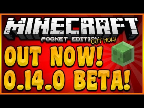 0.14.0 BETA OUT NOW!! MINECRAFT POCKET EDITION 0.14.0 BETA FULL CHANGES & FEATURES (MCPE 0.14.0)