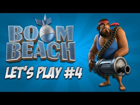 Boom Beach Let's Play – Diamond Spending & Exploring!: Live Episode 4