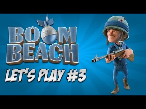 Boom Beach Let's Play – Gold & Wood Loot Stealing!: Live Episode 3