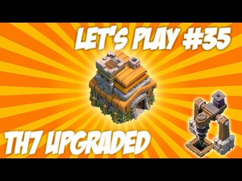 "CLASH OF CLANS | LET'S PLAY ""TOWNHALL 7 UPGRADED!"" New Dark Elixir + New Unlocks Live Episode 35"
