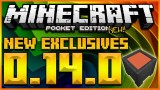 EXCLUSIVE MOBS & FEATURES! Minecraft Pocket Edition 0.14.0 – Cauldrons, Item Frames (MCPE 0.14.0)