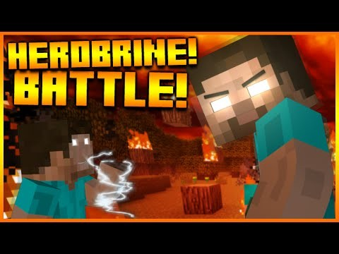 HEROBRINE IN MINECRAFT!! – Minecraft Herobrine Boss Battle 1 Command Creation (NO MODS)
