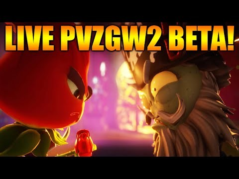 [LIVE!] plants vs zombies: garden warfare 2 – BackYard BattleGround (PvZGW2 Multiplayer)