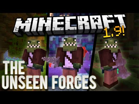 Minecraft 1.9 | The Best Map Creation Ever | THE UNSEEN FORCES (Custom 1.9 PVE Map)