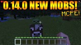 MINECRAFT POCKET EDITION 0.14.0 – NEWS UPDATE MCPE EXCLUSIVE MOBS COW