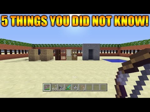 Minecraft Xbox 360 + PS3 5 Cool Things You Possibly Didn't Know You Could Do In Minecraft