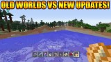 Minecraft Xbox 360 + PS3: Old Worlds Vs New Update – Title Update 31 World Changes