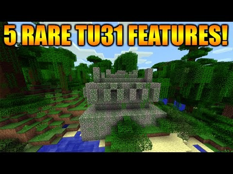 Minecraft Xbox 360 + PS3: The Top 5 Rare Features After Title Update 31