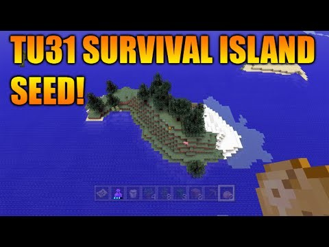 Minecraft Xbox 360 + PS3 – TU31 Amazing Survival Island Seed + Guardian Temple At Spawn!