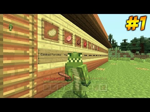 Minecraft Xbox – The Food Challenge – Ready Steady Bake! Part 1