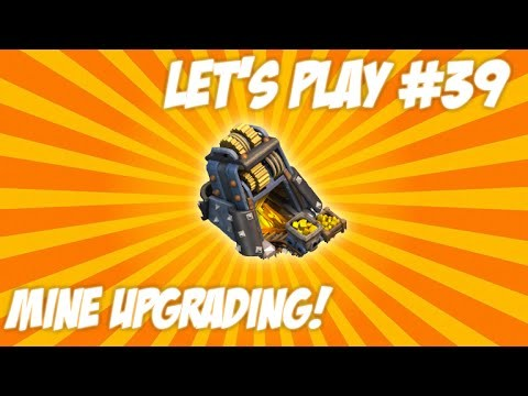 "CLASH OF CLANS | LET'S PLAY ""GOLD MINE UPGRADES"" So Many Obstacles + Wall Upgrades Live Episode 39"