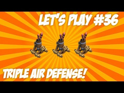 "CLASH OF CLANS | LET'S PLAY ""TOWNHALL 7 CHANGES!"" Triple Air Defense + New Members Live Episode 36"